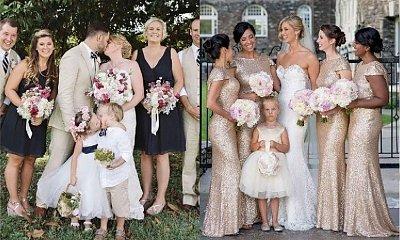 Chcieli mieć idealne zdjęcie ślubne, ale... wtedy oni weszli w kadr. Mistrzowie drugiego planu!
