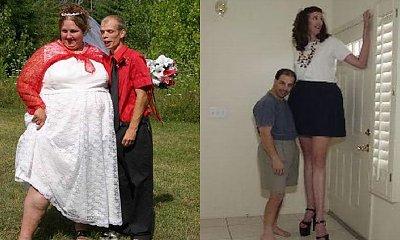 Galeria najbardziej dziwacznych zdjęć par! Zabawne, żenujące i przerażające w jednym