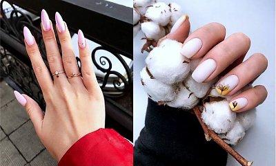 Jasny manicure - 21 stylowych zdobień na jesień
