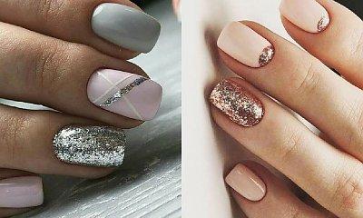 Brokatowe paznokcie - ponad 20 pomysłów na połyskujący manicure