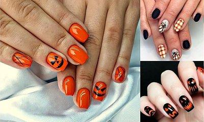 Dyniowy manicure rządzi - galeria stylizacji paznokci na halloween