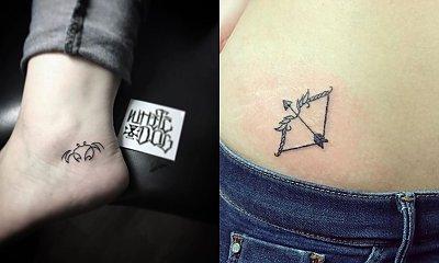 Niewielkie tatuaże ze znakiem zodiaku - galeria małych tatuaży