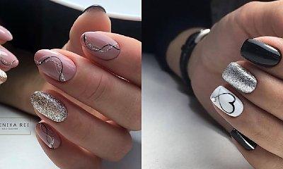 Brokatowy manicure - 20 propozycji na mieniące się paznokcie!