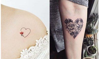 Tatuaż serce - galeria niezwykłych wzorów dla kobiet