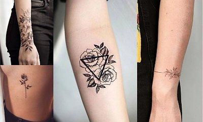 Tatuaże kwiaty - galeria ślicznych i dziewczęcych wzorów