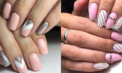 Różowy manicure - 23 pomysły na różowe paznokcie [GALERIA]