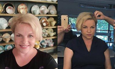 Katarzyna Bosacka już tak nie wygląda? Fani twierdzą, że w rudym nie jest jej do twarzy. Chyba mają rację!