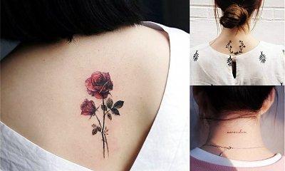 Tatuaż na karku - galeria przepięknych wzorów z sieci