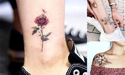 Tatuaże kwiaty - 20 fantastycznych wzorów dla dziewczyn