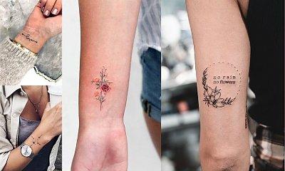 Małe tatuaże - 30 ślicznych i oryginalnych wzorów