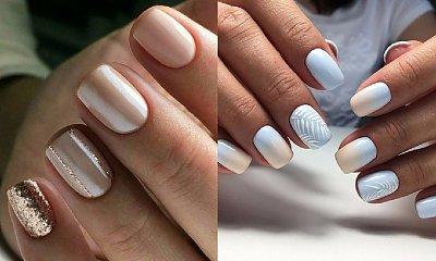 Jasny manicure - 18 najpiękniejszych wzorów z internetu [GALERIA]