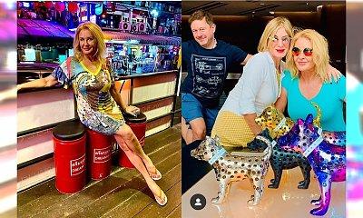 """Majka Jeżowska odsłania ciało w biki: """"Najlepsze nogi szołbizu"""" - piszą fani. Zwrócili uwagę na coś jeszcze"""