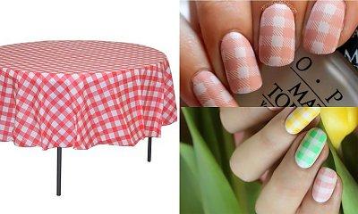 Manicure 2020: Paznokcie w kratę będą hitem wiosny 2020! Zainspiruj się... słynną ceratą!