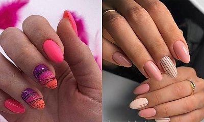 Różowy manicure - 30 pomysłów na różowe paznokcie ciemne i jasne [GALERIA]