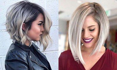 Genialne fryzury dla okrągłej twarzy - 18 efektownych cięć