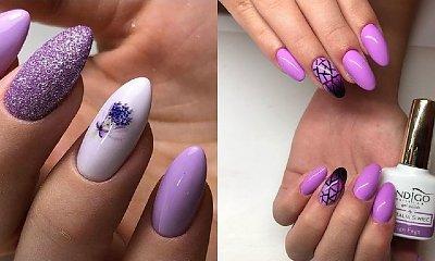 Fioletowy manicure - 23 pomysły na fioletowe paznokcie w różnych odcieniach [GALERIA]