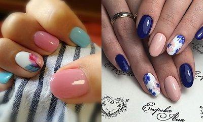 Wiosenne paznokcie - 30 pomysłów na manicure na zbliżającą się wiosnę [GALERIA]