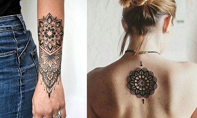Tatuaże mandala - 15 inspirujących wzorów dla kobiet