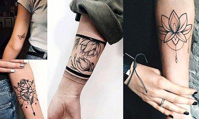 Tatuaż na rękę - 21 oryginalnych i kobiecych wzorów