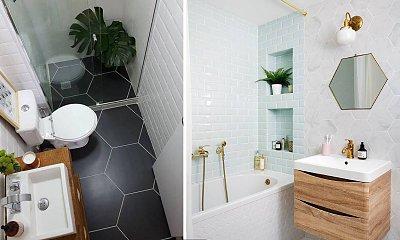 Inspiracje na urządzenie małej łazienki - 11 designerskich wnętrz