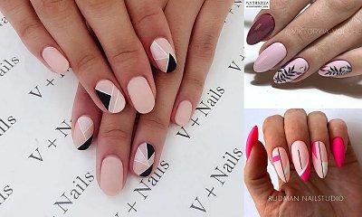 Różowy manicure hybrydowy – galeria ślicznych i oryginalnych zdobień