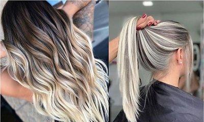 Modne kolory włosów 2020: Balejaż znowu na topie!
