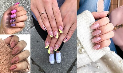 20 pomysłów na stylowy manicure z dodatkiem geometrycznych zdobień! [GALERIA]