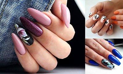 Kwiatowy manicure - 24 śliczne propozycje, które robią ogromne wrażenie