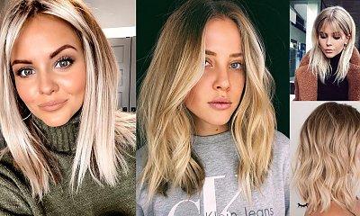 Modne fryzury średnie - 20 nowoczesnych cięć dla blondynek