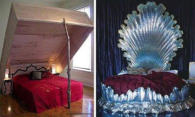 Wygodne łóżko? Zapomnij! Te posłania zasługują na miano najdziwniejszego łóżka na świecie