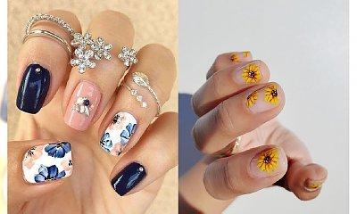 Hit tego sezonu: Paznokcie w kwiaty - 25 pomysłów na kwiecisty manicure