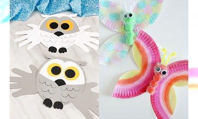 Łatwe prace plastyczne dla dzieci - 30 pomysłowych zwierzątek [GALERIA]