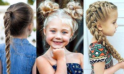 Fryzury dla dziewczynek - 20 propozycji na śliczne uczesania z warkoczem i nie tylko