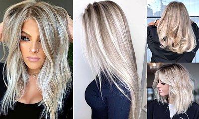 Modne kolory włosów 2020 - popielaty blond w kilkunastu odcieniach [galeria]