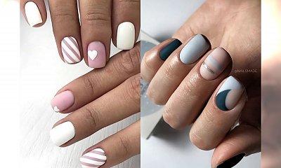 Krótki manicure - 24 proste pomysły na krótkie paznokcie