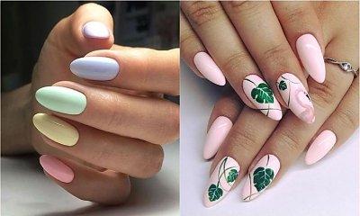 Pastelowe paznokcie na wiosnę - pomysły na kolorowy wiosenny manicure