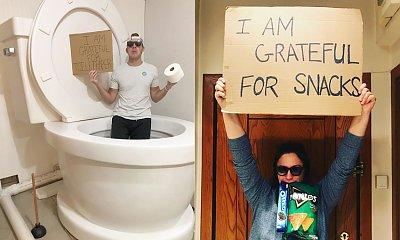 Wszyscy pokazują, za co są wdzięczni w czasach kwarantanny. A Wy widzicie jakieś plusy izolacji?