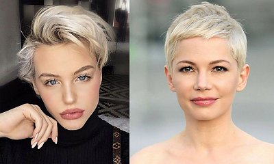 Fryzury krótkie dla kobiet o jasnych włosach - pixie, bob, undercut i inne