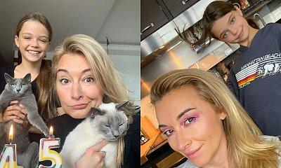 Martyna Wojciechowska zachwyca się utalentowaną córką. Pasją Marysi jest gimnastyka