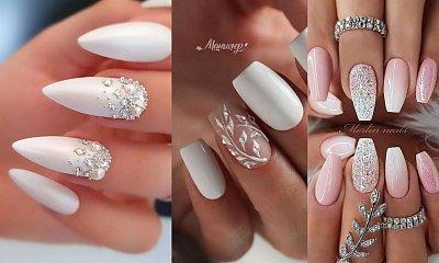Przegląd pomysłów na ślubny manicure – galeria najpiękniejszych zdobień