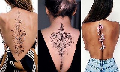 Tatuaże na plecy - kilkanaście najpiękniejszych projektów dla kobiet