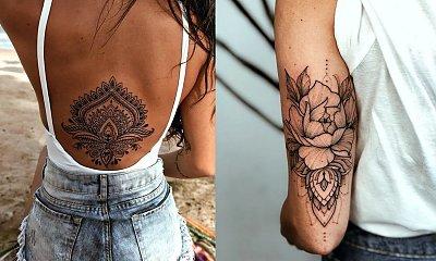 Tatuaże mandala - 25 najciekawszych wzorów