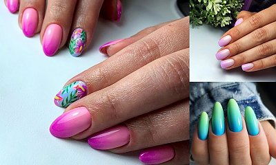 Ombre manicure - galeria najpiękniejszych pomysłów