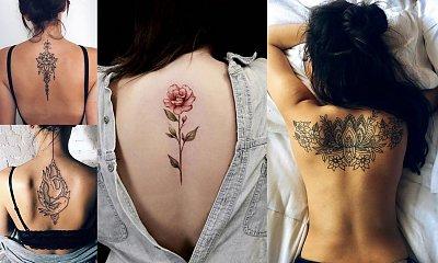 Tatuaże na plecy - 22 najpiękniejsze wzory dla kobiet