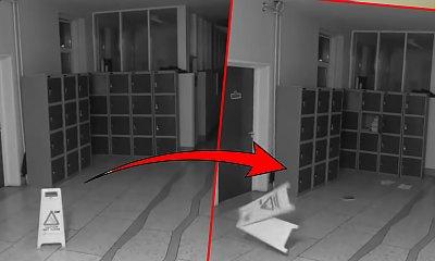 Szkolne kamery zarejestrowały nocą duchy?! Uczniowie od dawna skarżyli się na dziwne sytuacje