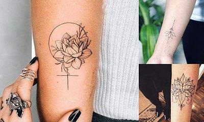 16 stylowych propozycji na tatuaż z kwiatem lotosu! [GALERIA]