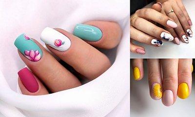 Manicure w kwiaty - 21 śliczne zdobienia, które robią mega wrażenie!