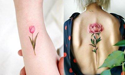 Tatuaże kwiaty - 26 urzekających wzorów dla kobiet
