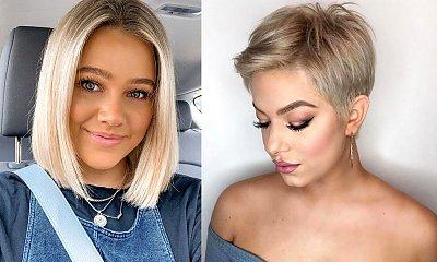 18 modnych cięć dla włosów w kolorze blond - katalog stylowych fryzur