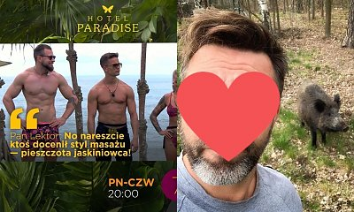 """Pan Lektor z """"Hotel Paradise 2"""" jest znów najciekawszym uczestnikiem? Oto jego najlepsze teksty!"""